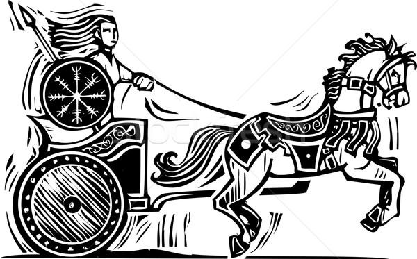Brigid Chariot Stock photo © xochicalco