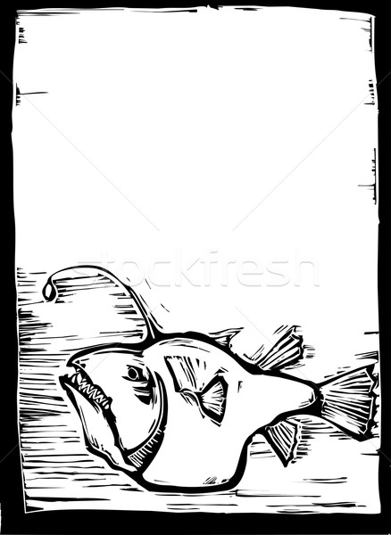 Anglerfish 3 Stock photo © xochicalco