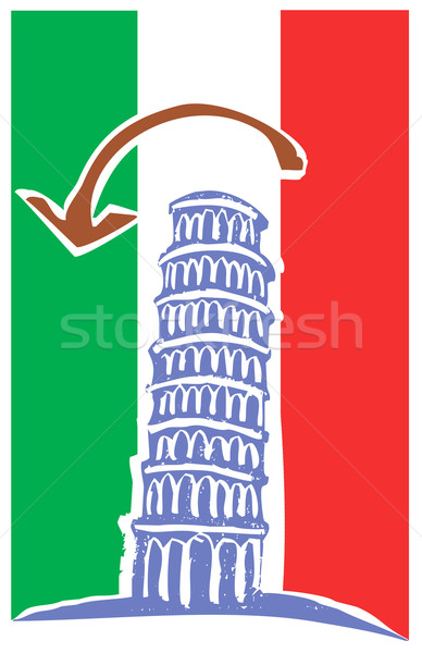 Leaning Tower of Pisa Stock photo © xochicalco