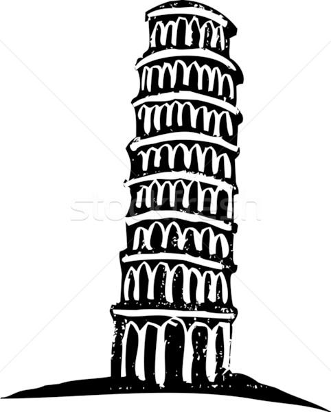 Leaning Tower of Pisa Stock photo © xochicalco