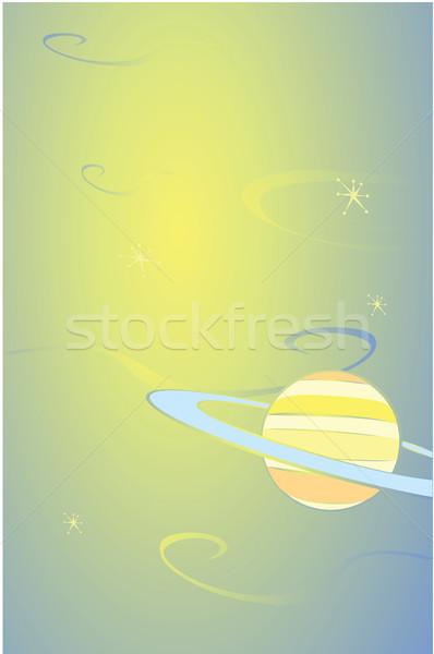 Saturn in Space Stock photo © xochicalco