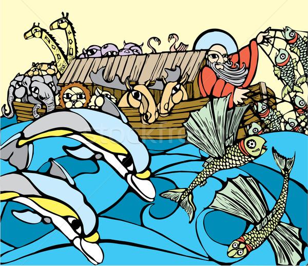 Noah's Ark Stock photo © xochicalco