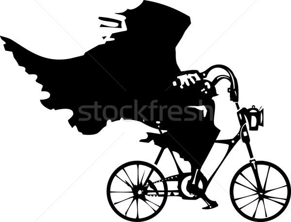 смерти велосипед изображение верховая езда велосипедов Сток-фото © xochicalco