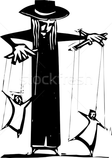 Puppeteer Stock photo © xochicalco