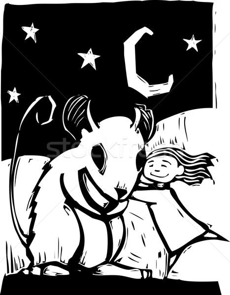 Huggy Mouse Stock photo © xochicalco