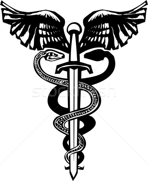 Sword Caduceus Stock photo © xochicalco