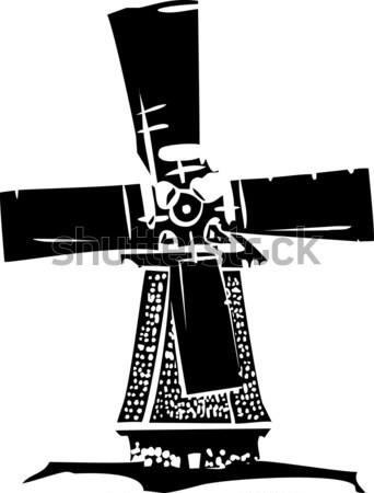 Espada pedra imagem rei história magia Foto stock © xochicalco