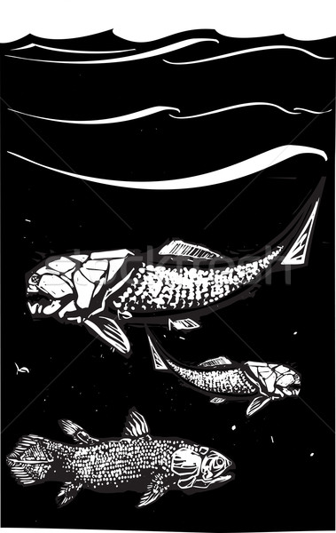 Prehistoric Fish Stock photo © xochicalco