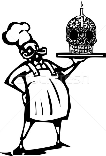Day of the dead Chef Stock photo © xochicalco