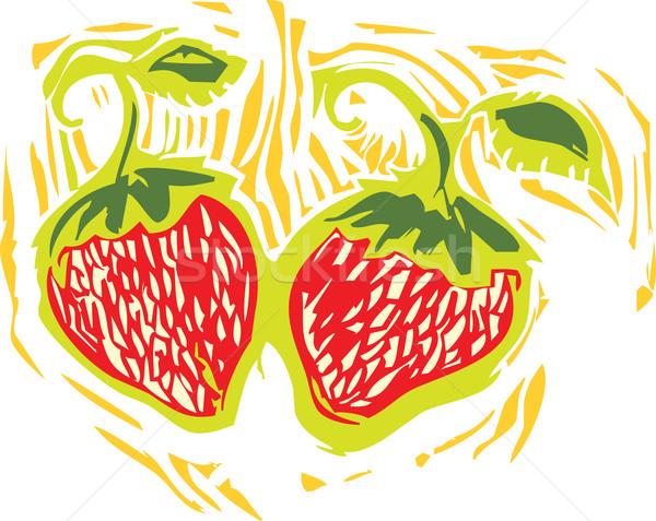 Strawberry Stock photo © xochicalco