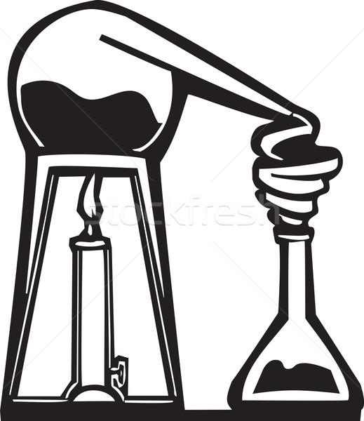 化学 スタイル 画像 科学 研究 薬 ストックフォト © xochicalco