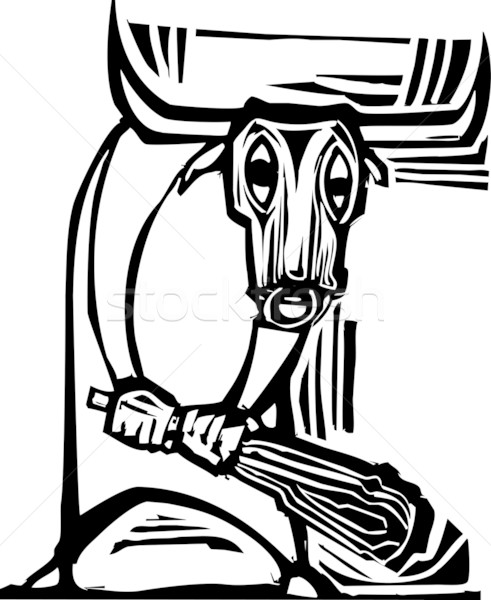 Minotaur Stock photo © xochicalco