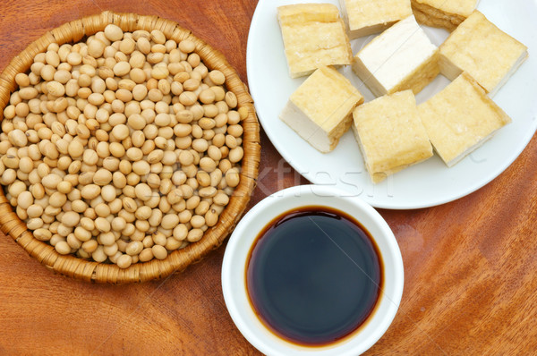 product from soybean Stock photo © xuanhuongho