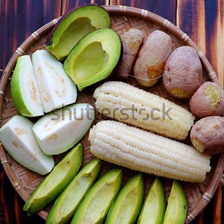 Vietnamese food, vegetarian, diet menu Stock photo © xuanhuongho