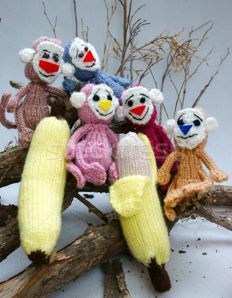 Anno scimmia maglia giocattolo simbolo Foto d'archivio © xuanhuongho