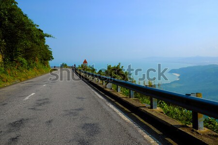 Hai Van mountain pass Stock photo © xuanhuongho