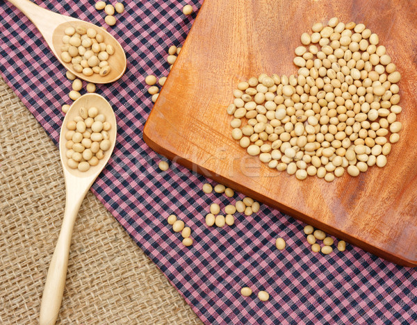 ストックフォト: 大豆 · 栄養 · 名前 · 家族 · 豊富な