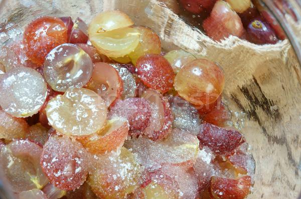 Uva vinho fruto fermentação casa Foto stock © xuanhuongho
