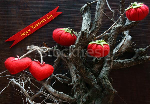 Happy Valentine day,  amazing background Stock photo © xuanhuongho