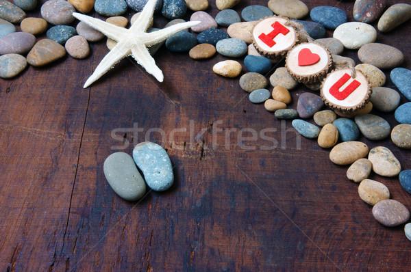 Valentine background, Feb 14, i love you Stock photo © xuanhuongho