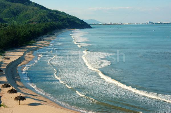 Vietnam beach, Viet Nam seashore, landscape Stock photo © xuanhuongho