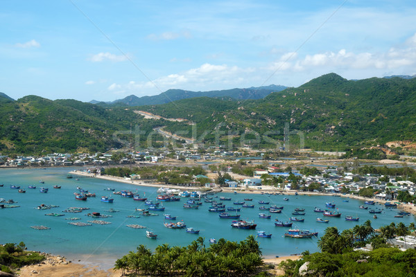 Vietnam beach, Vinh Hy bay, Vietnam travel  Stock photo © xuanhuongho