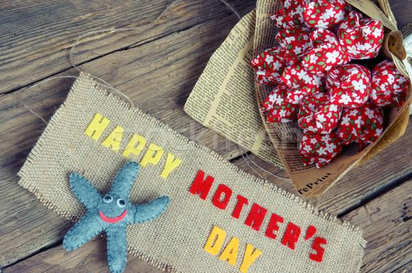 Amor mamá mensaje idea colorido Foto stock © xuanhuongho