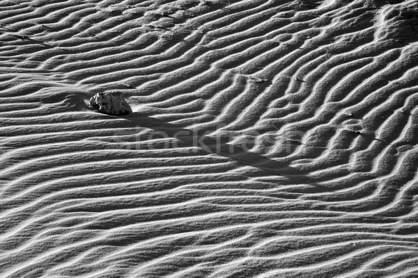 background, wavy pattern, art, sand Stock photo © xuanhuongho