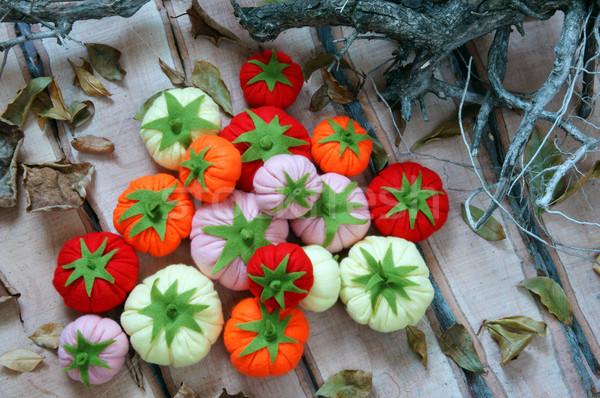 Resumen arte frutas hecho a mano Vietnam asombroso Foto stock © xuanhuongho