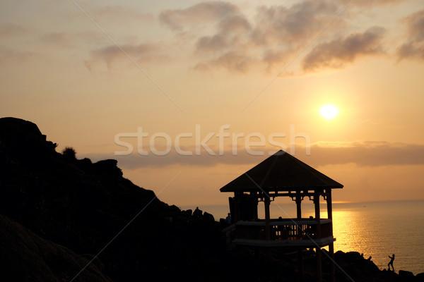 Dai Lanh cape, Phu Yen, Viet Nam, sunrise Stock photo © xuanhuongho
