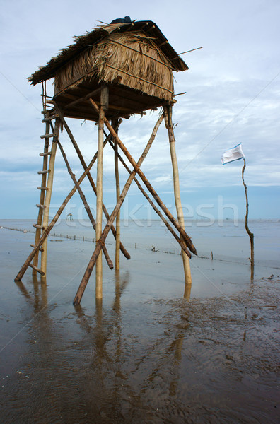 watch tower on Viet Nam beach Stock photo © xuanhuongho