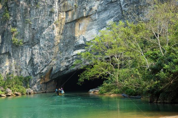 Knall Höhle Vietnam erstaunlich wunderbar Höhle Stock foto © xuanhuongho