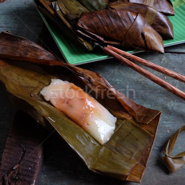 Voedsel speciaal street food keuken rijst Stockfoto © xuanhuongho