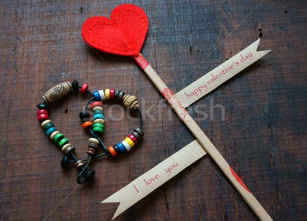 Valentine day, Feb 14 Stock photo © xuanhuongho