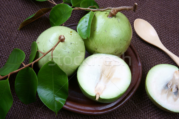 Vietnam farm product, milk fruit, star apple Stock photo © xuanhuongho