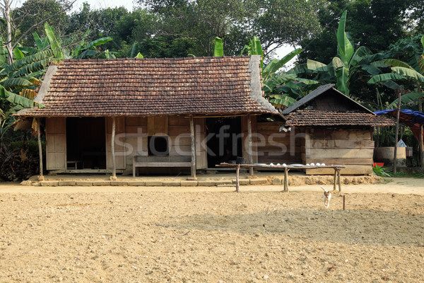 Casa montana Vietnam dos abajo casa Foto stock © xuanhuongho