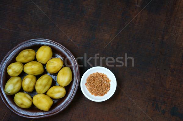 Vietnamese food, Spondias mombin Stock photo © xuanhuongho