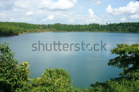 Bien Ho, ecotourism, pine forest, lake, Gia Lai, Vietnam Stock photo © xuanhuongho