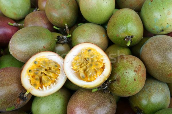 Passie vruchten vitamine c gezonde voeding landbouw veld Stockfoto © xuanhuongho