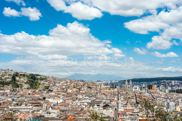 Quito is the second highest capital city in the world, Ecuador Stock photo © xura