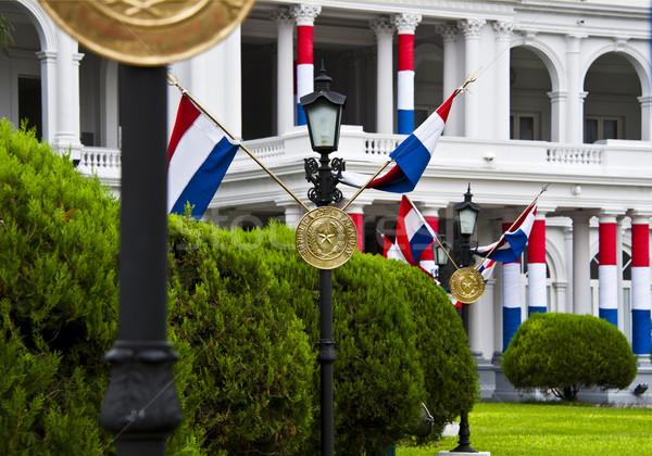 Palace of the President, Asuncion Paraguay Stock photo © xura