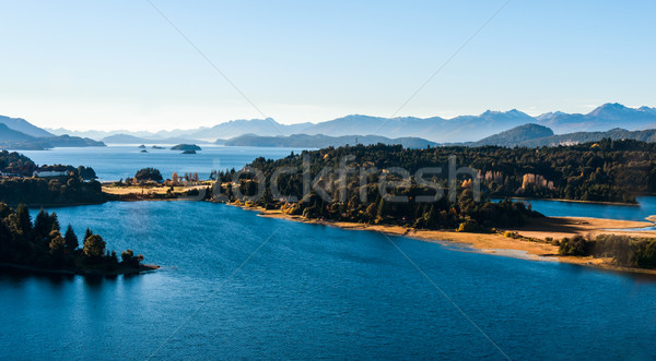 Photo stock: Lac · Argentine · nature · paysage · Voyage · automne