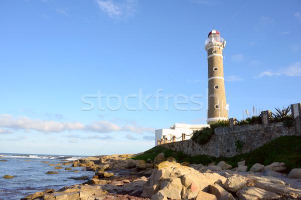 Deniz feneri Uruguay su doğa manzara deniz Stok fotoğraf © xura