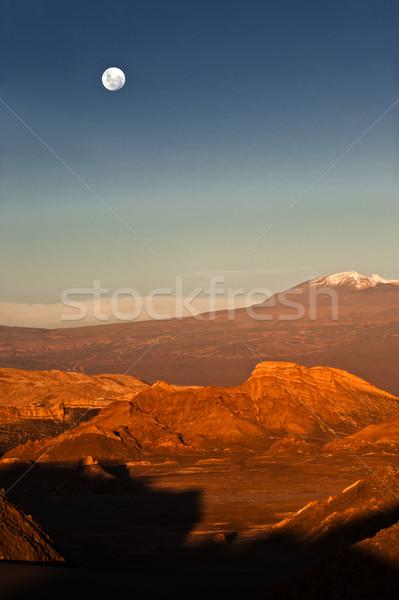 Hold völgy Chile LA 13 nyugat Stock fotó © xura
