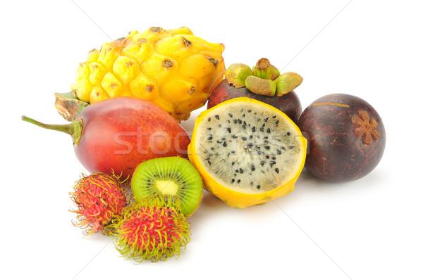 Tropical frutas isolado branco natureza alimentação Foto stock © xura