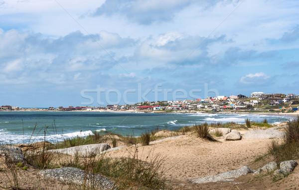 ビーチ 人気のある 観光 場所 ウルグアイ 水 ストックフォト © xura
