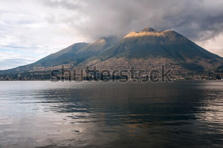 Imbabura stratovolcano in northern Ecuador Stock photo © xura