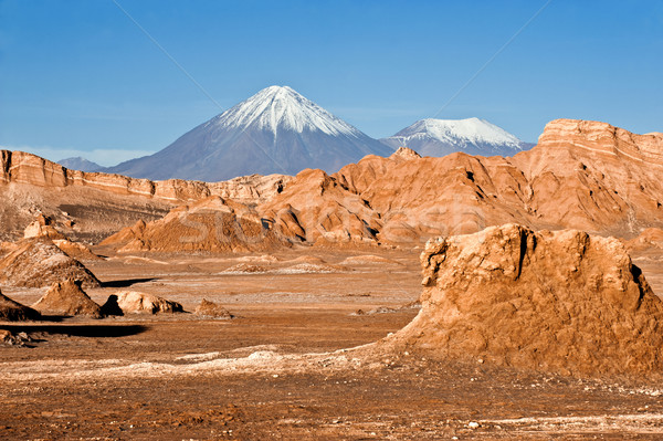 Lua vale Chile natureza deserto montanha Foto stock © xura