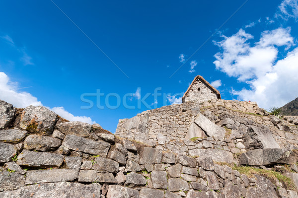 Guardhouse in Machu Picchu, Andes, Sacred Valley, Peru Stock photo © xura