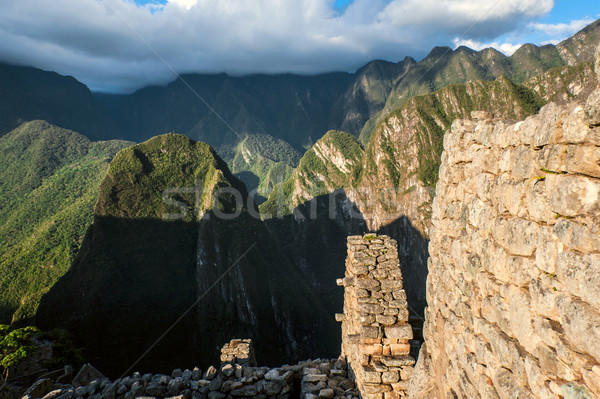 Machu Picchu, Peruvian Andes, Sacred Valley Stock photo © xura